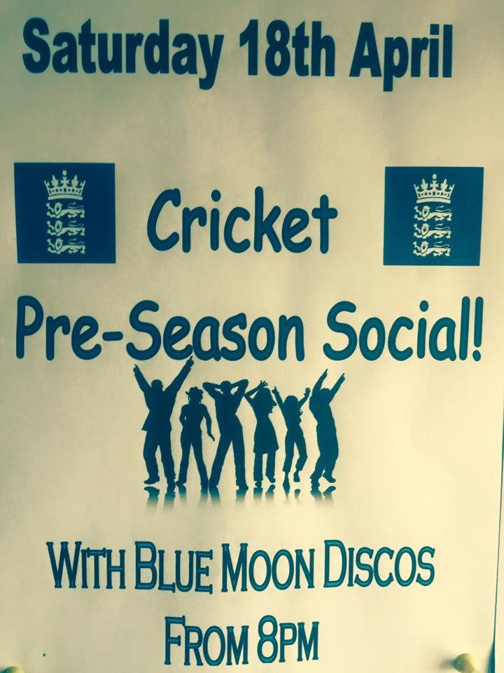 cricket pre season